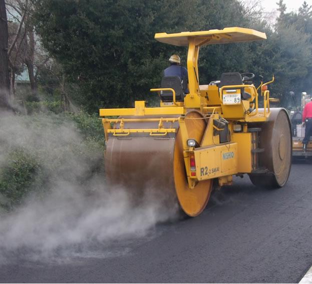 舗装復旧工事